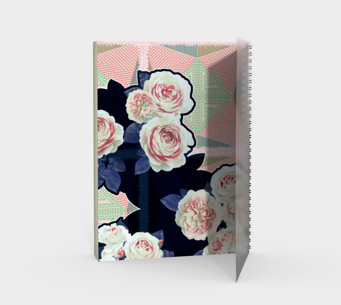 Rosa Stitch Notebook preview #2