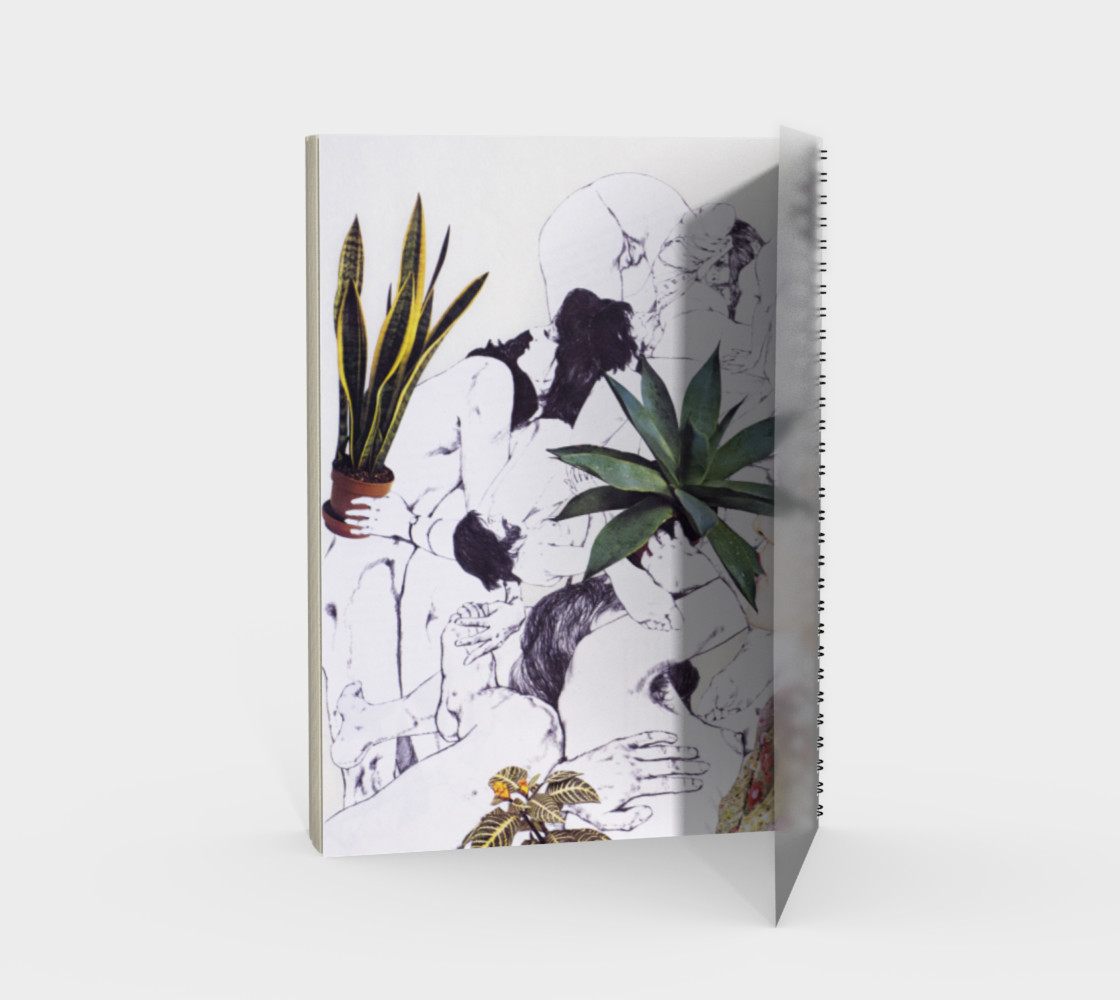 The Joy of Sex and Indoor Gardening Spiral Notebook preview #2