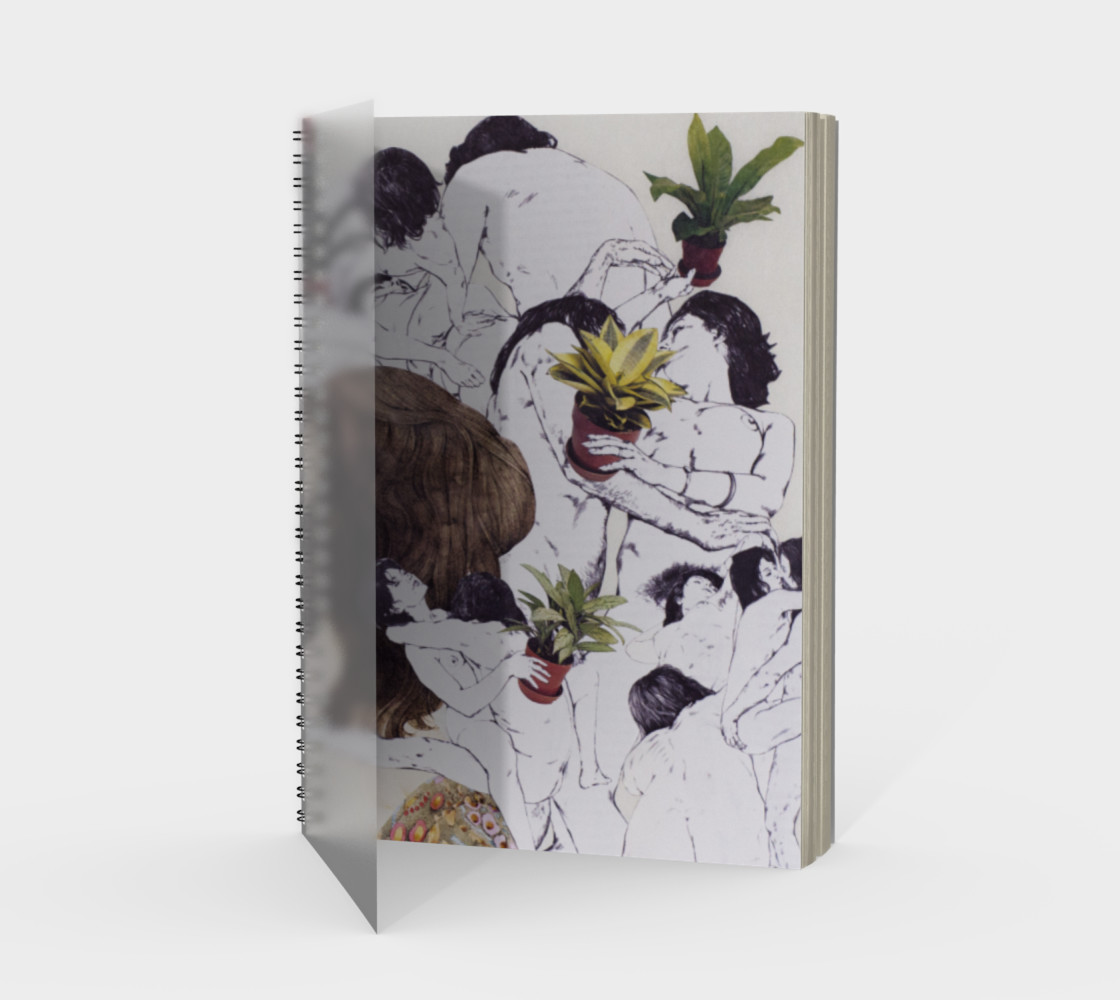 The Joy of Sex and Indoor Gardening Spiral Notebook preview #1