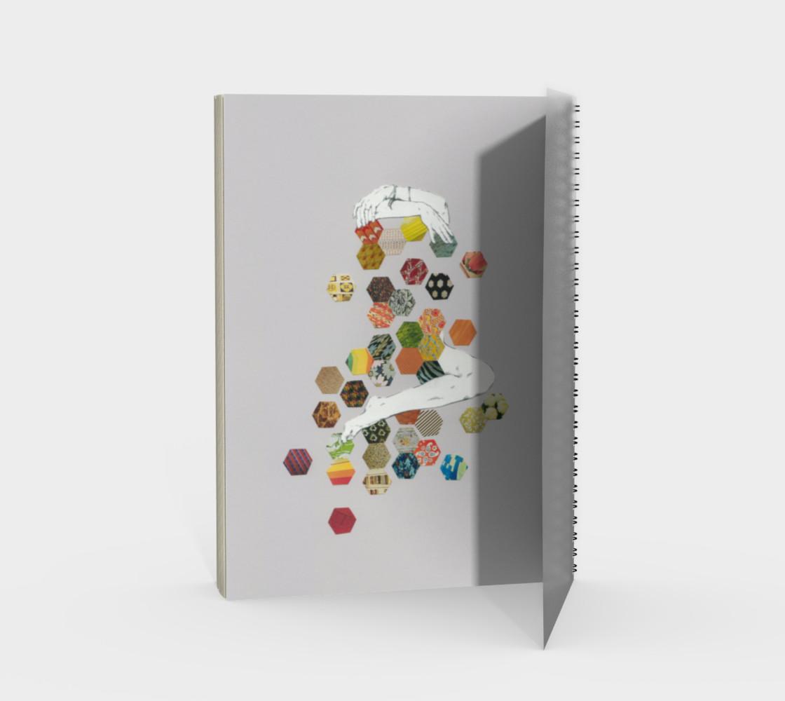 Honey Spiral Notebook preview #2