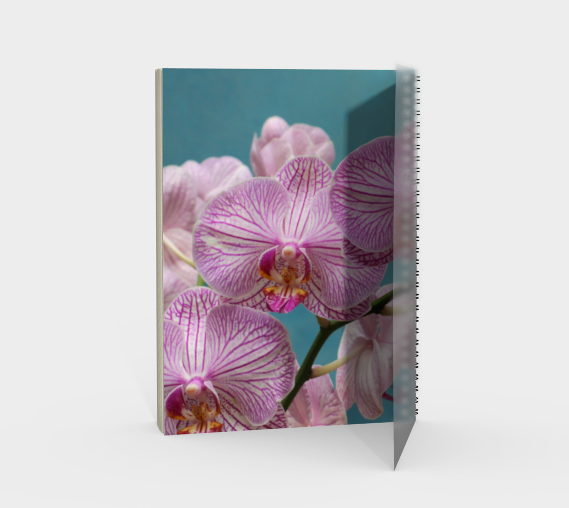 Purple Orchid Spiral Notebook Miniature #3