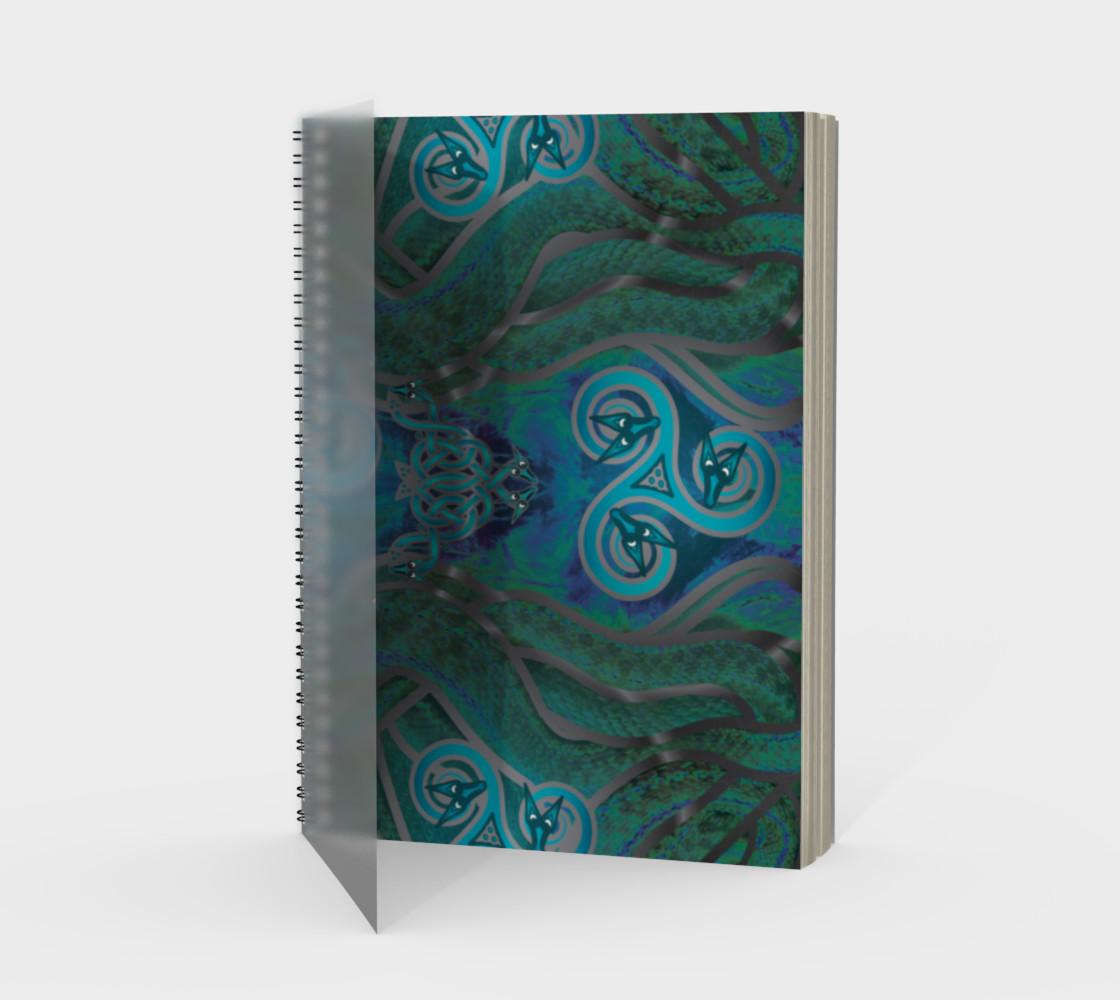 Tribal Celtic Snake Mandala preview #1