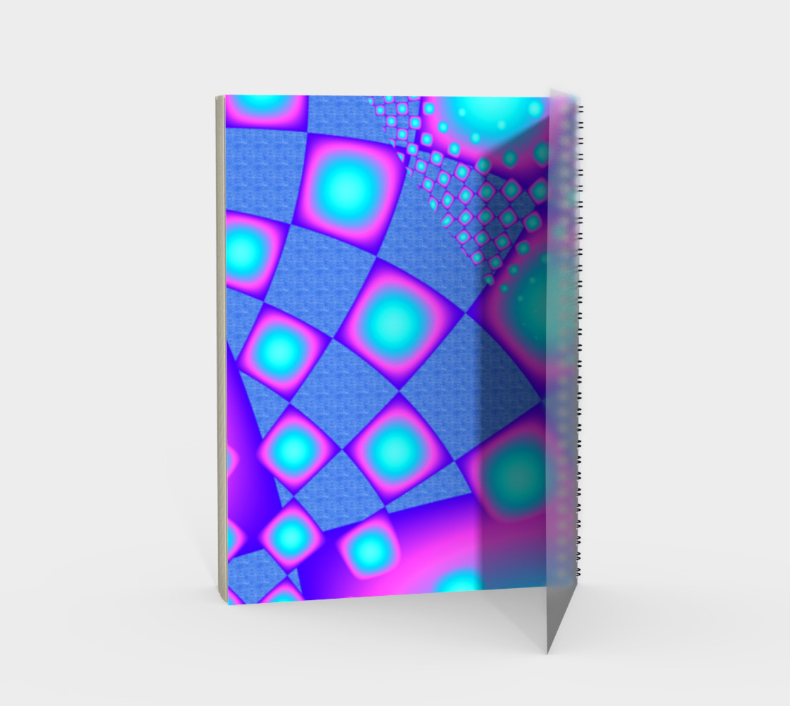 Neon Molecules Psychedelic Fractal preview #2