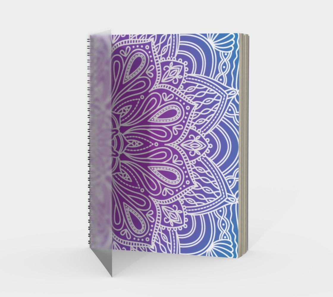 Trendy Gradient Mandala Design preview #1