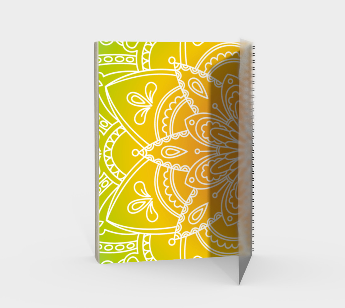 Trendy Gradient Mandala Design Miniature #3