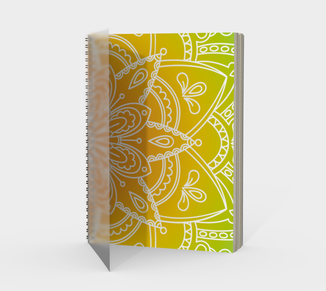 Trendy Gradient Mandala Design Miniature #2