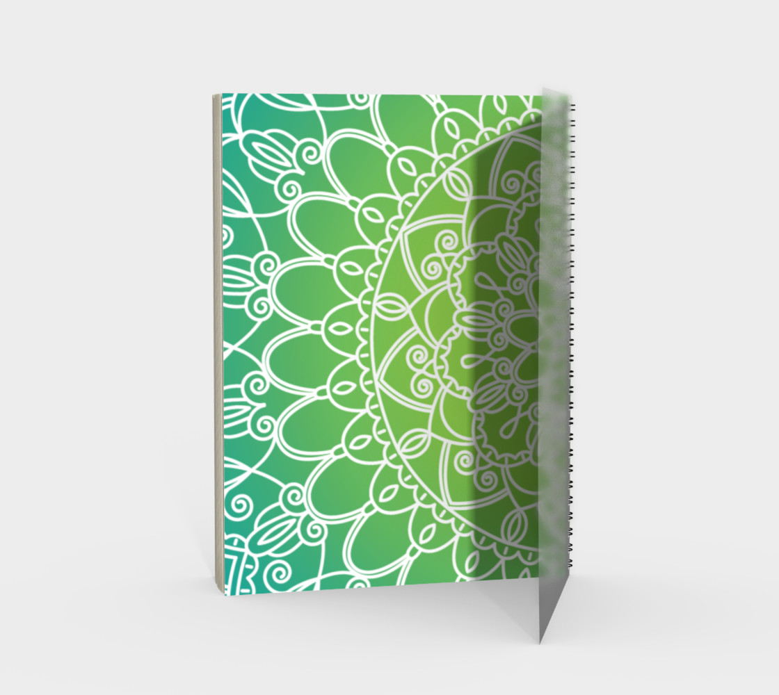 Trendy Gradient Mandala Design preview #2