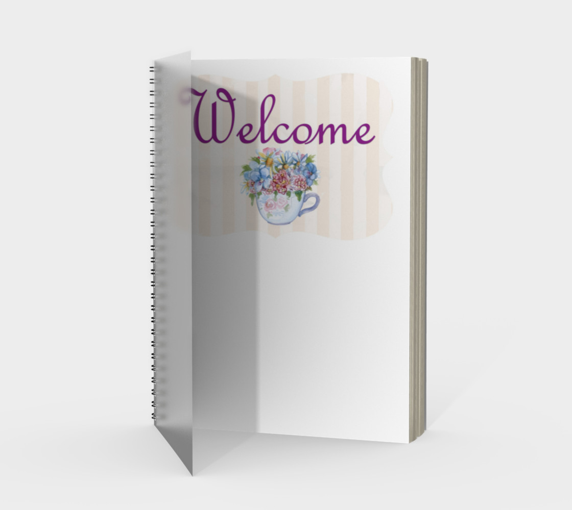 Welcome Spiral Notebook preview #1