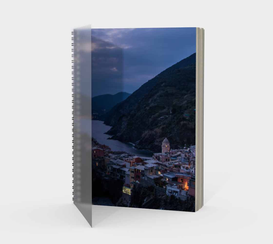 Utterly Italy Vernazza Notebook preview #1