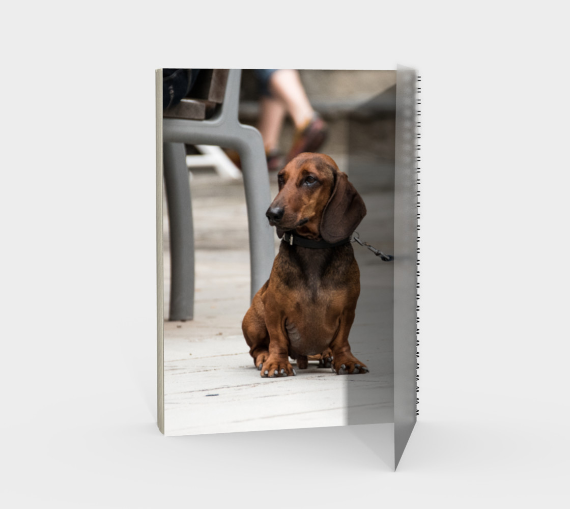 Utterly Italy Vernazza Dog Notebook preview #2