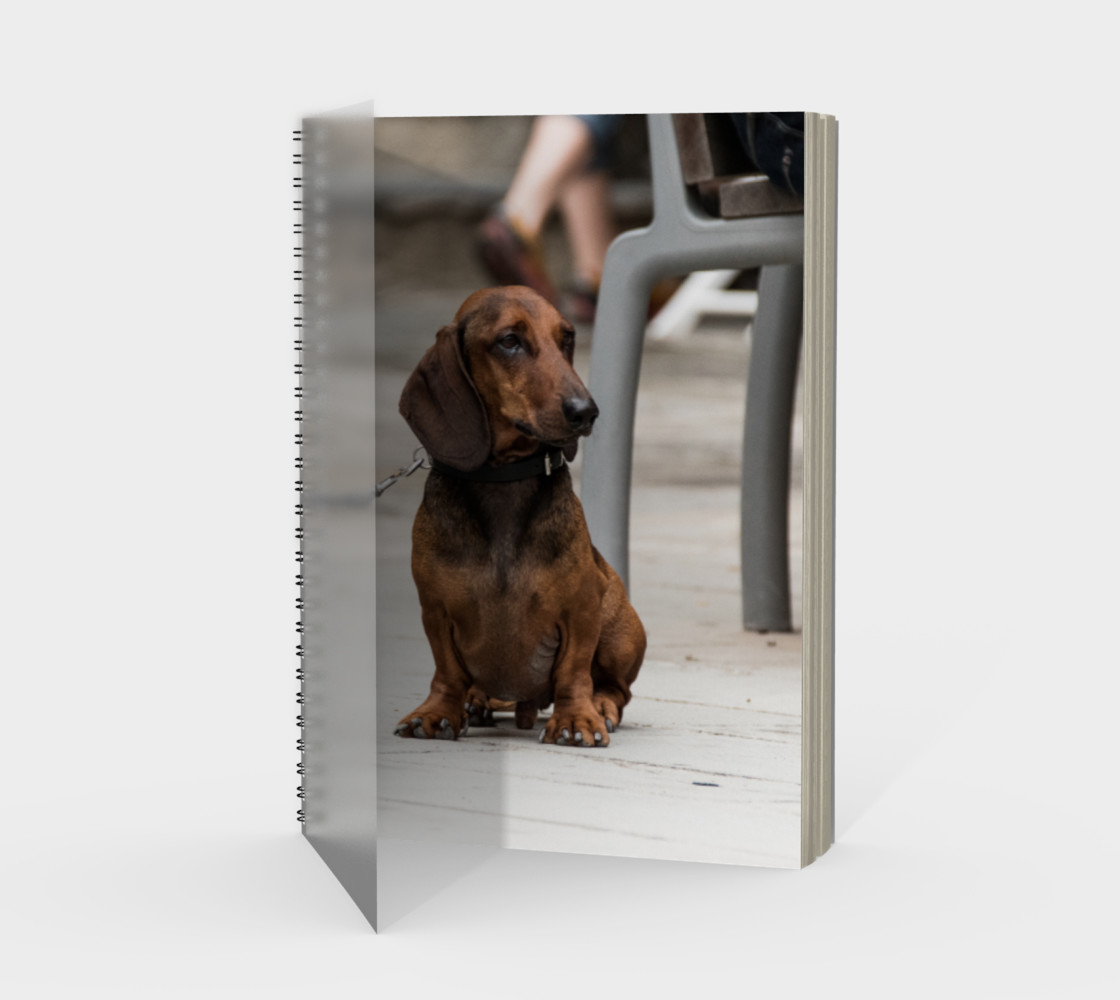 Utterly Italy Vernazza Dog Notebook preview #1