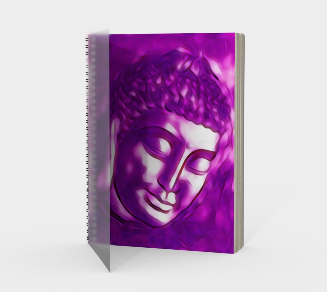 Pink Purple Buddha Art Portrait preview #1