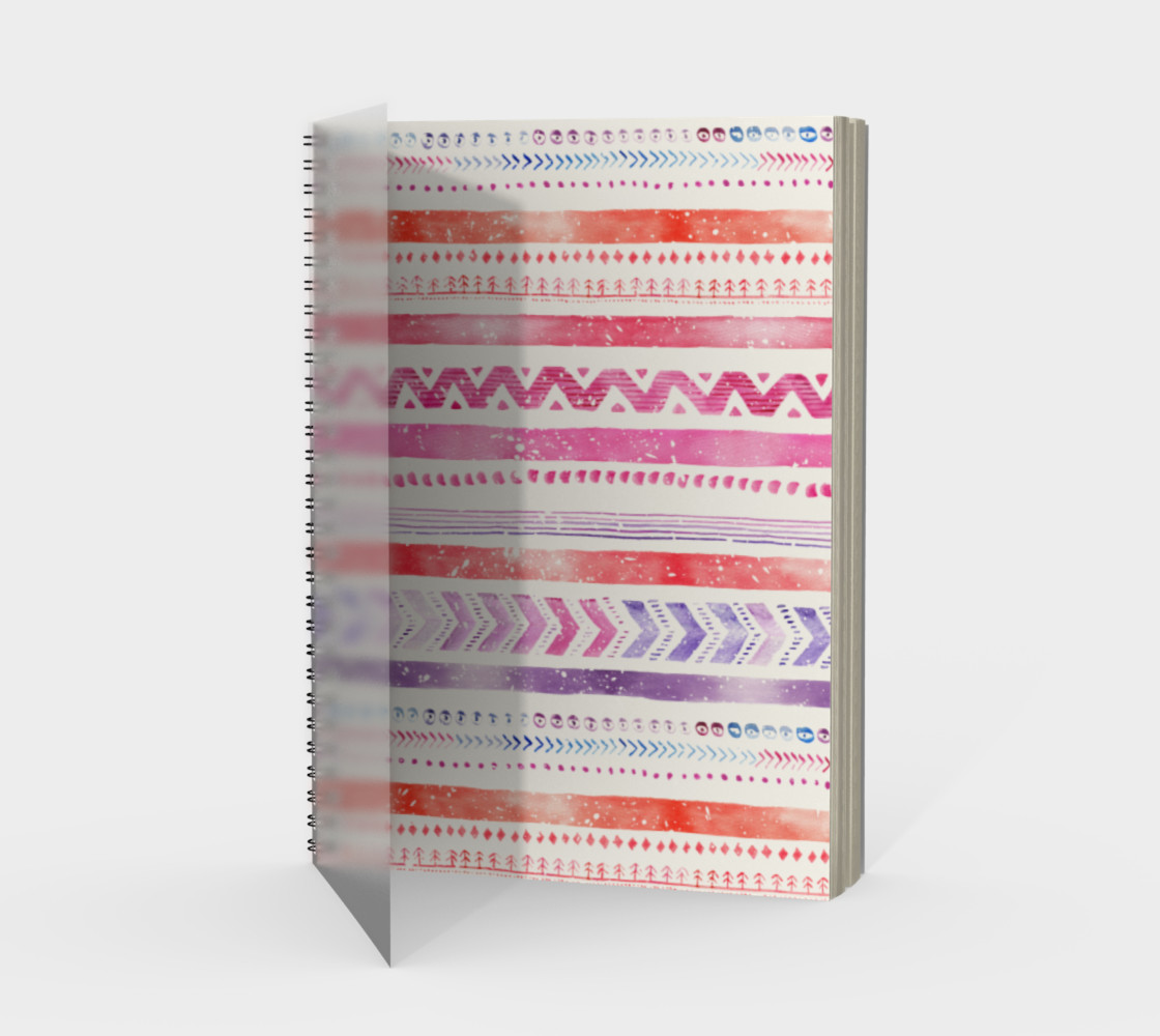 Watercolor Tribal Pattern preview #1