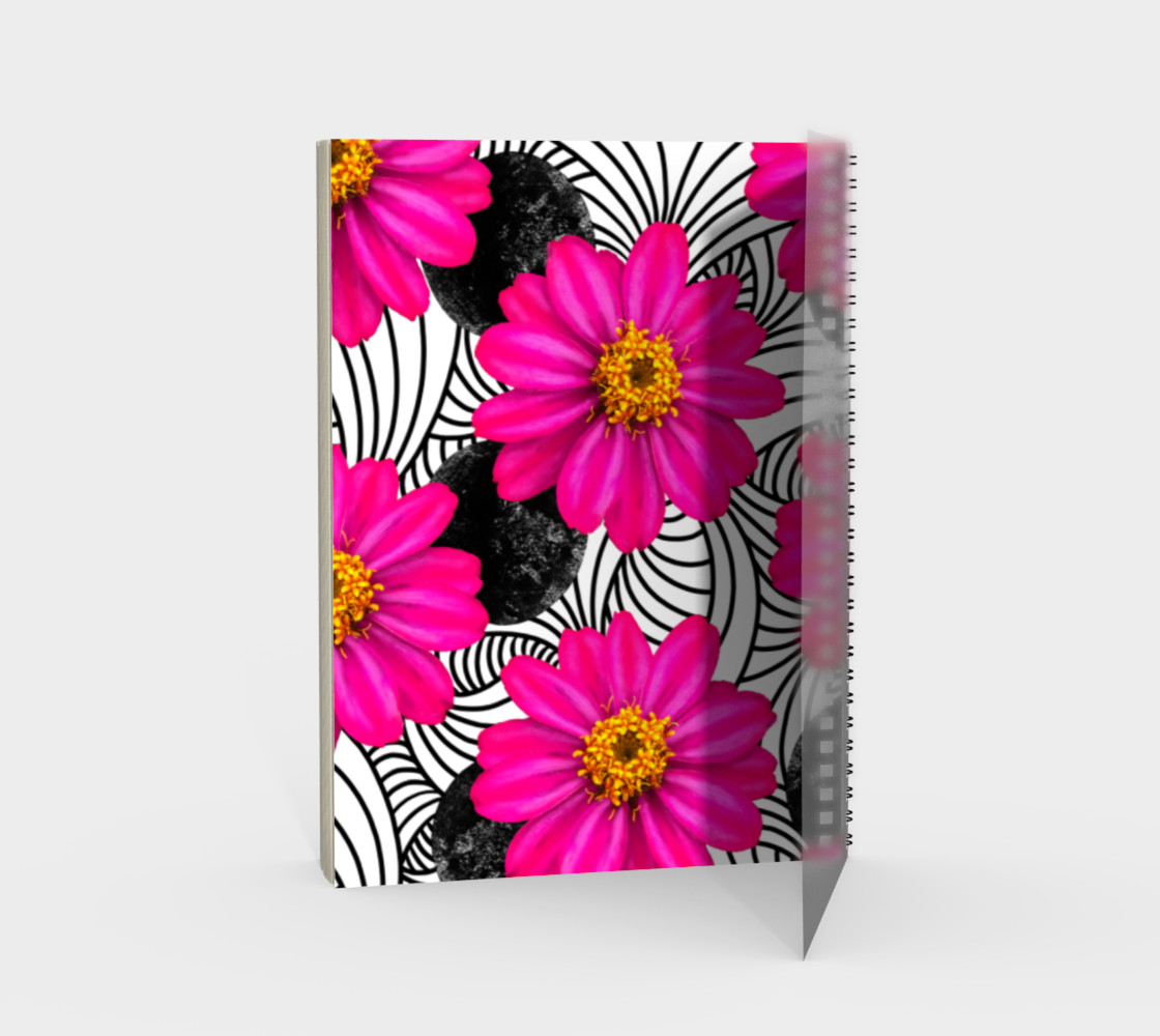 Hot Florals - Spiral Notebook preview #2
