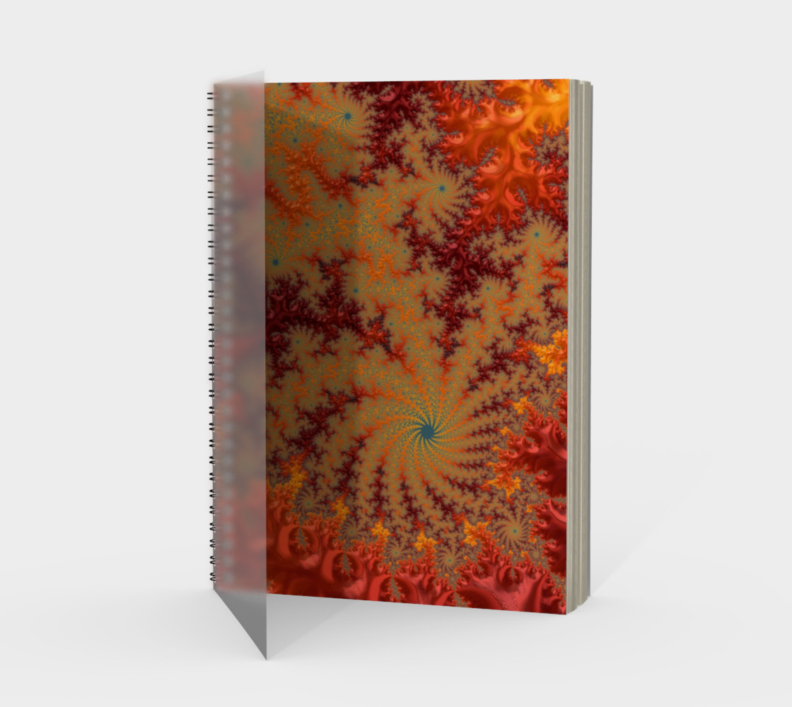 Crimson Alley Notebook preview #1