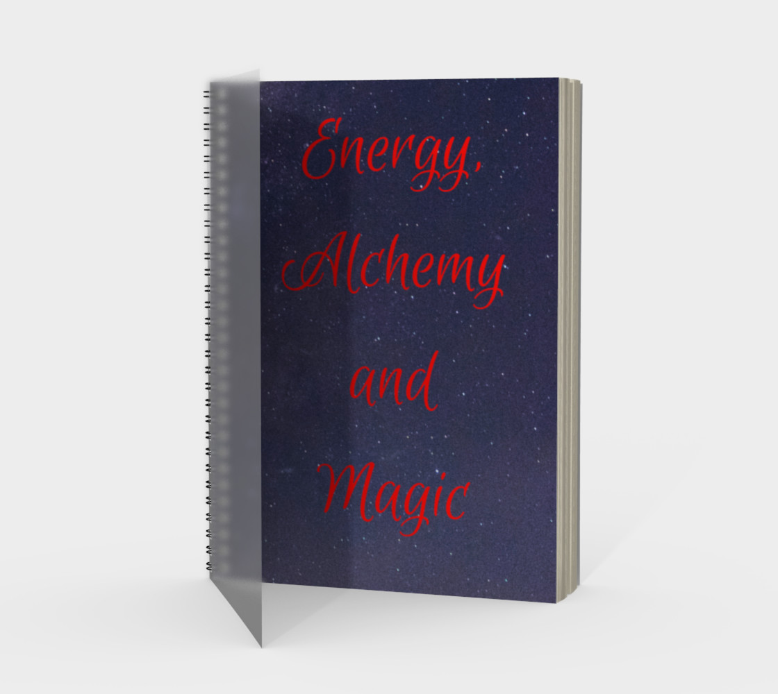 Aperçu de Your Energy, Alchemy and Magic Notebook #1