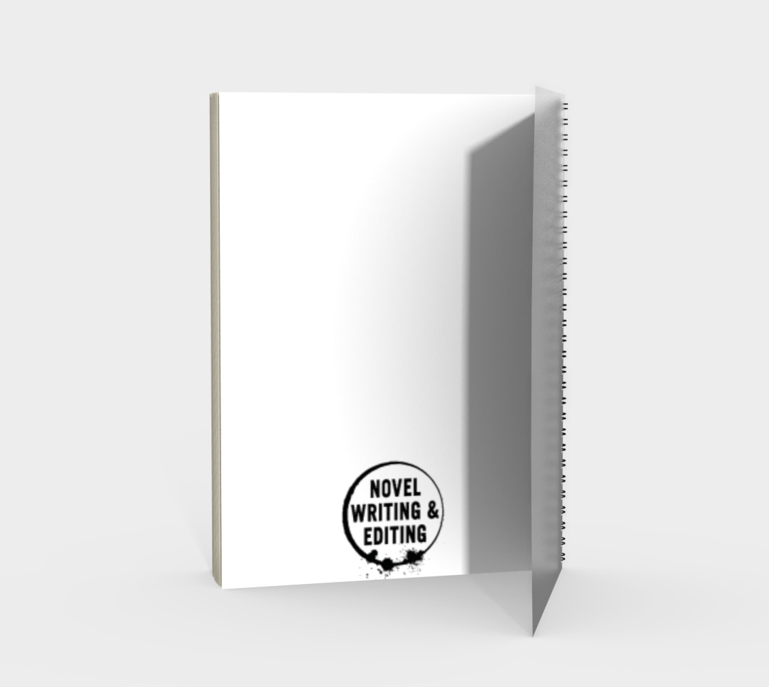 Writer Not Psycho Spiral Bound Notebook preview #2