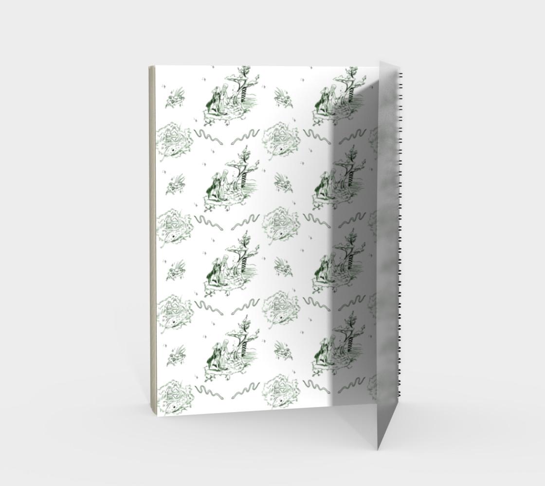 Aperçu de Slytherin Toile Notebook #2