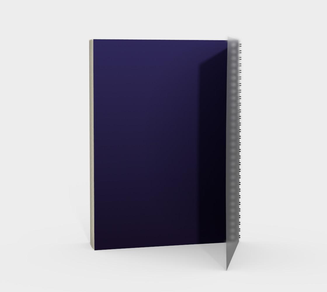 Moth Girl Spiral Notebook preview #2