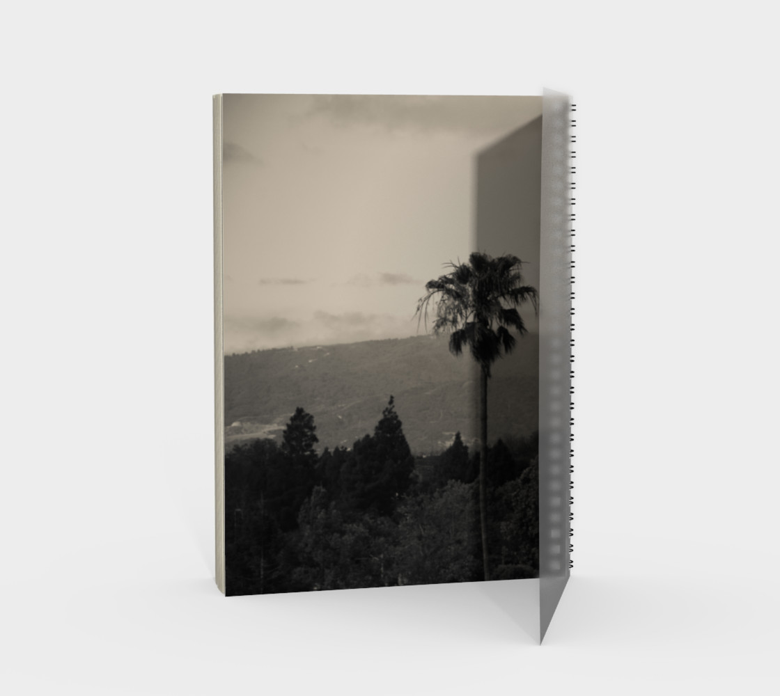 Santa Clara Palm Trees Spiral Notebook preview #2