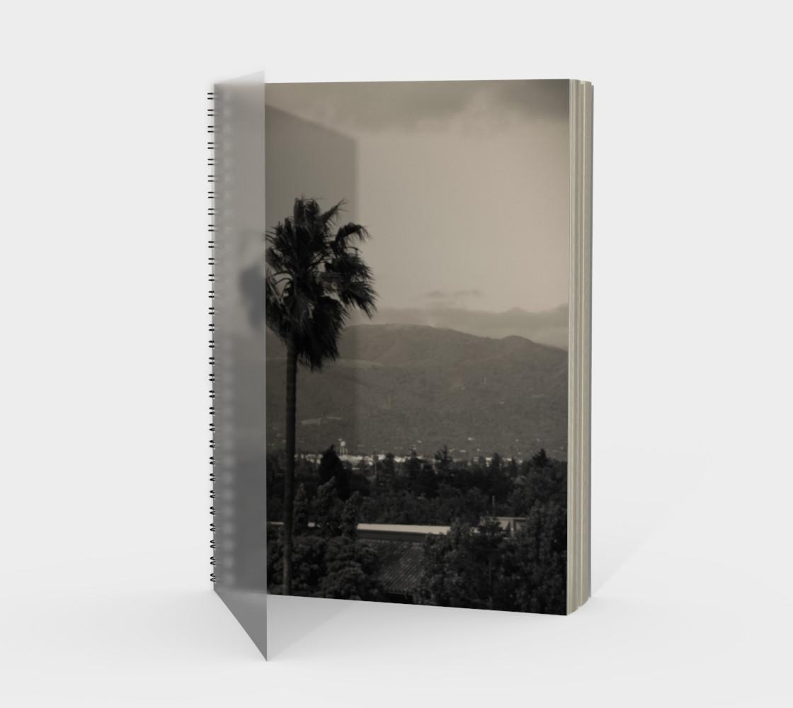 Santa Clara Palm Trees Spiral Notebook preview #1