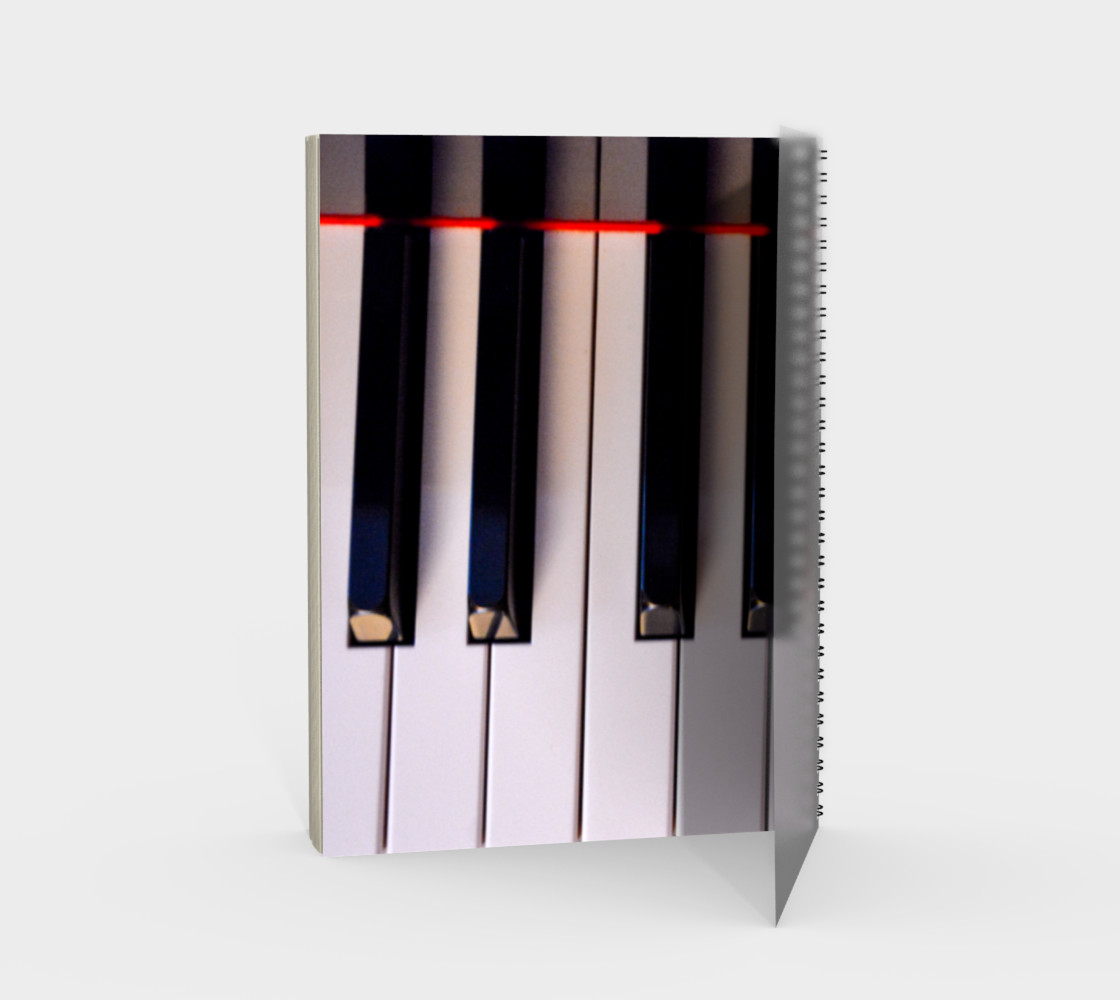 Baby Grand Spiral Notebook preview #2