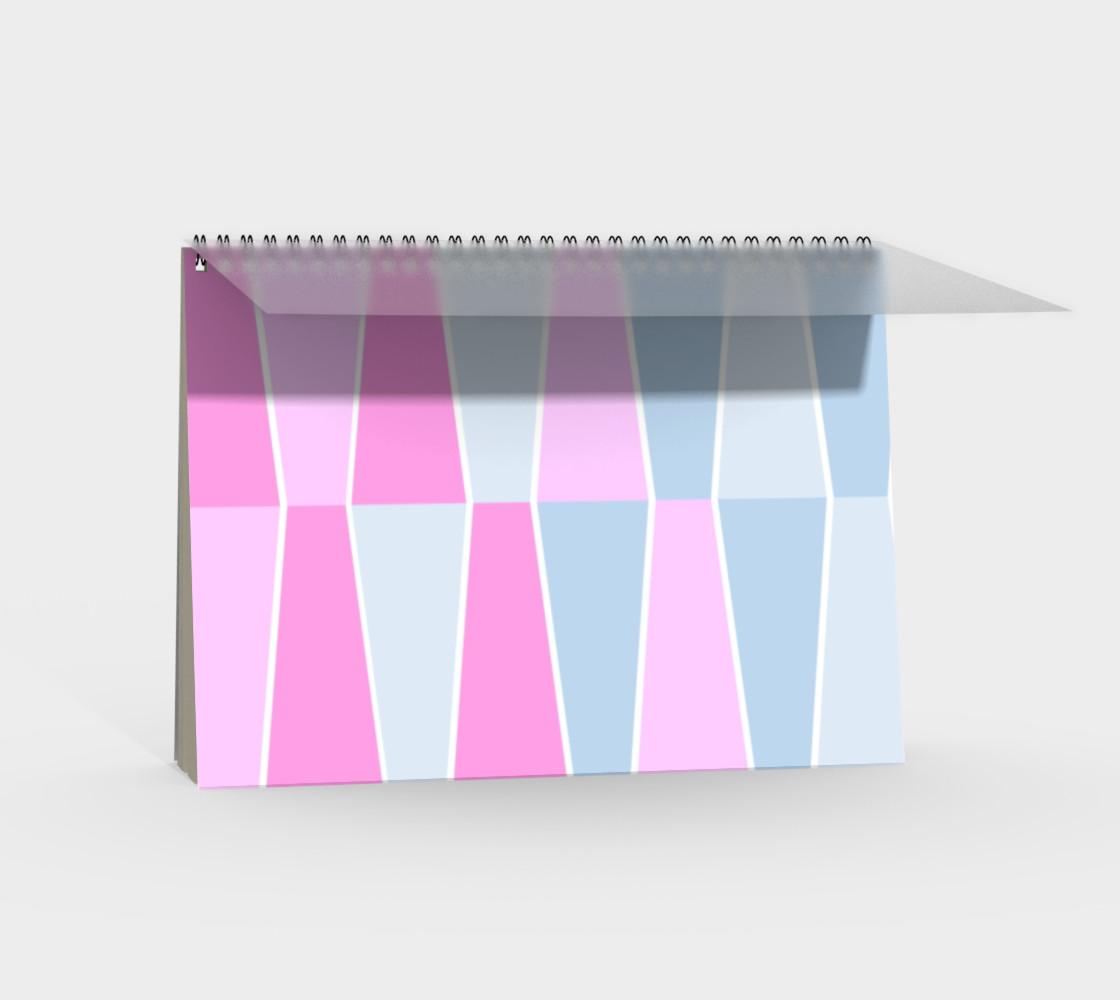 Aperçu de Pastel Geometric Spiral Notebook #2