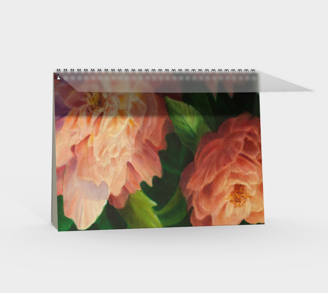 Spring Floral Spiral Notebook preview #2