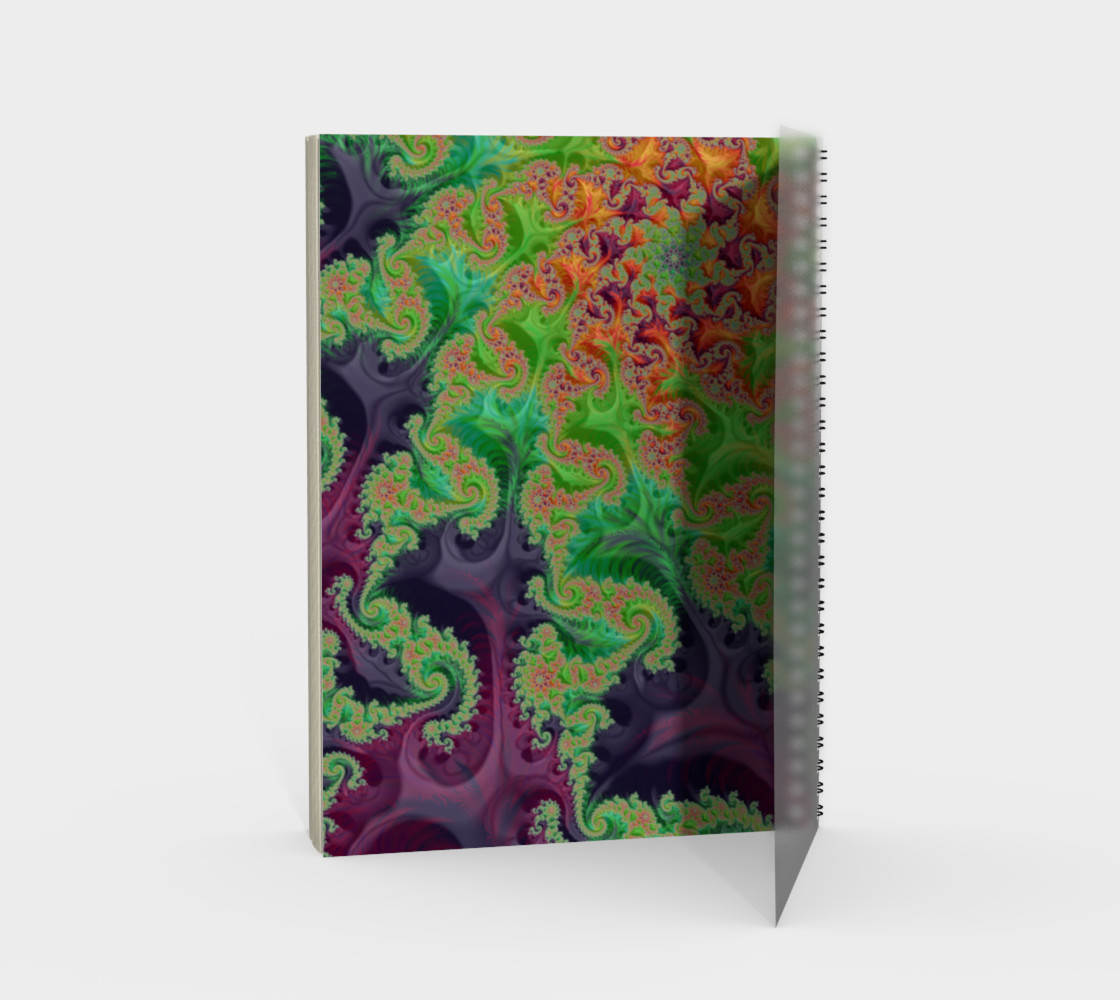 Edible Flower Notebook preview #2