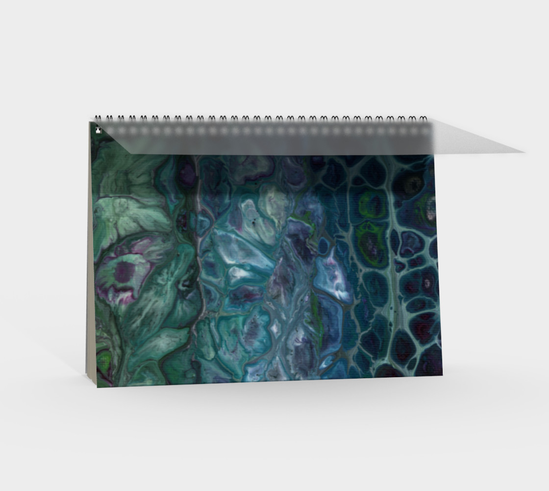 Water Scales Spiral Notebook preview #2