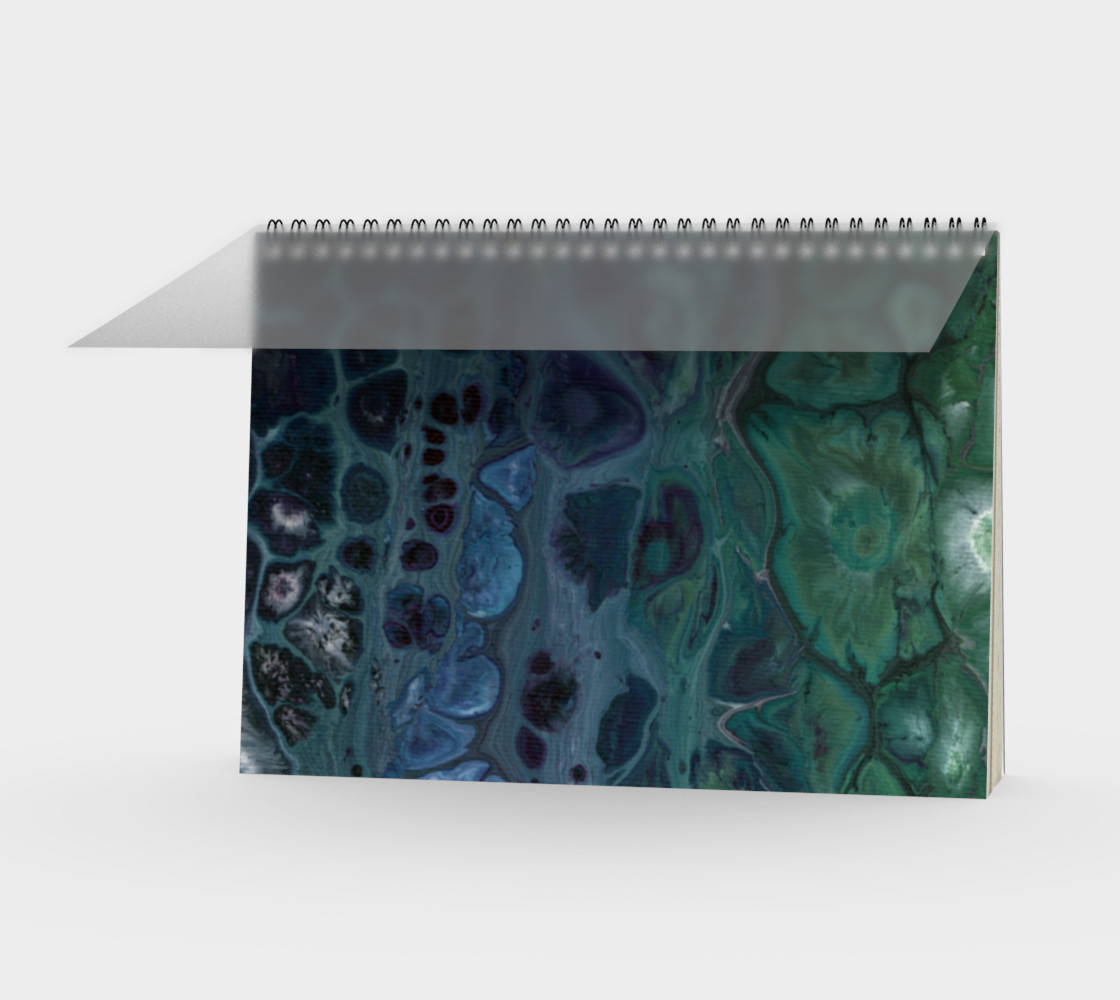 Water Scales Spiral Notebook preview #1