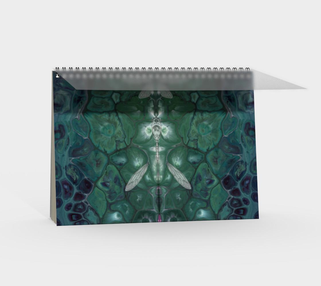 Meta Cicada Spiral Notebook preview #2