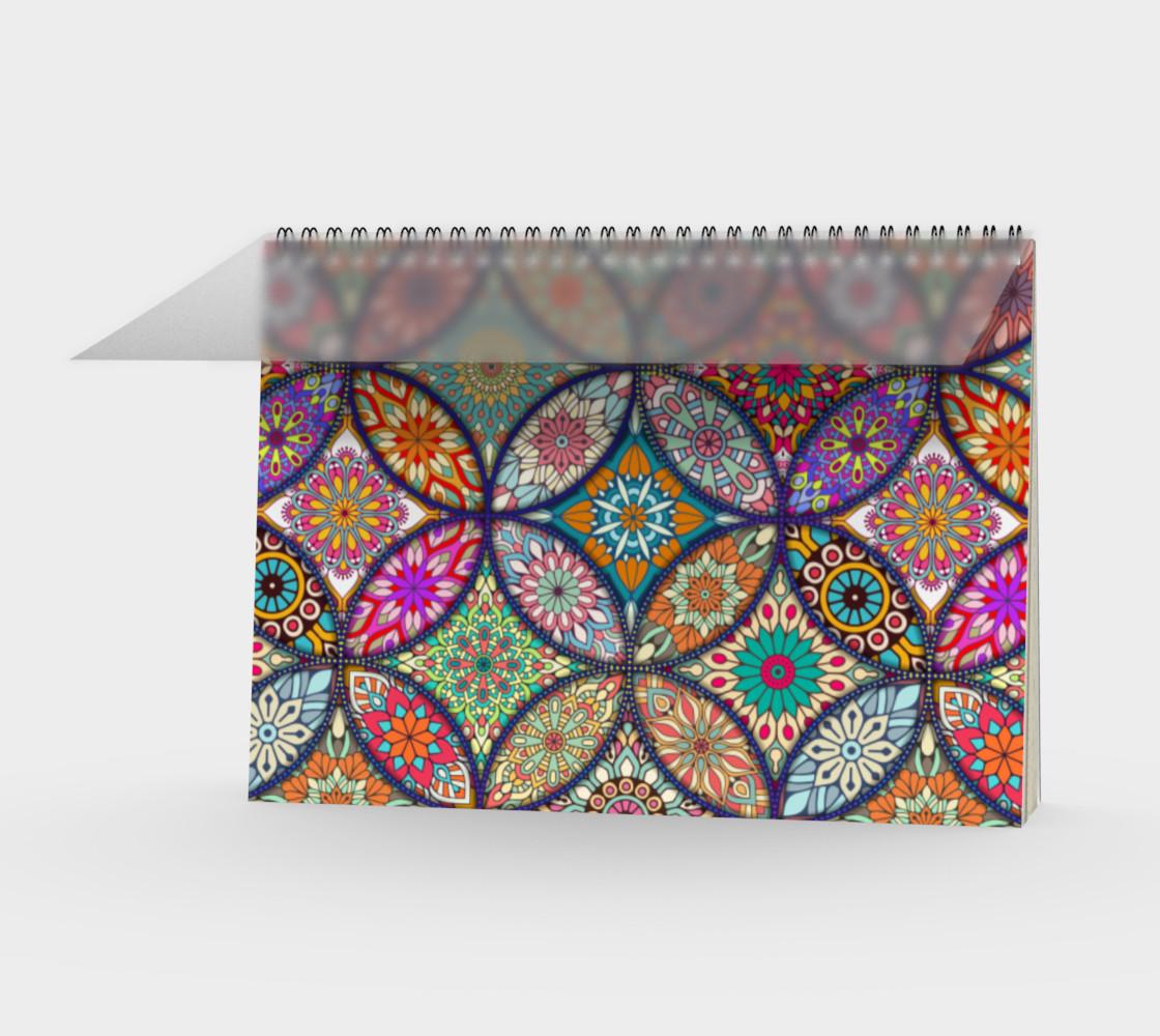 Vibrant Mandalas Spiral Notebook preview #1
