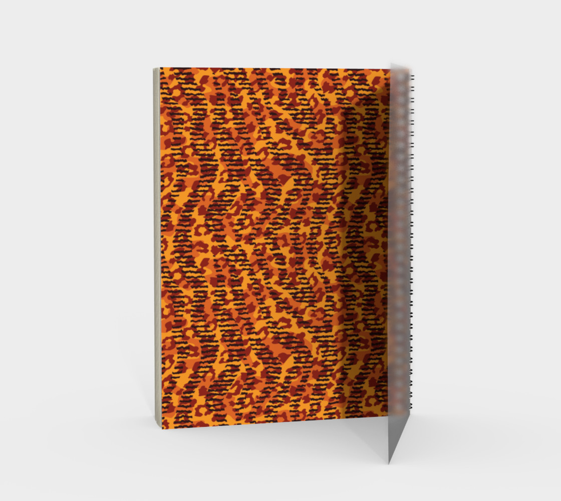 Animal Stripes and Spots Spiral Notebook preview #2