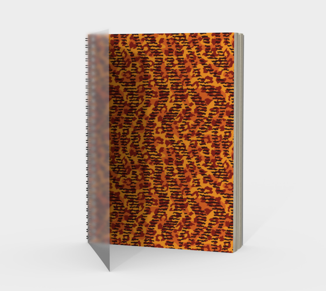 Animal Stripes and Spots Spiral Notebook preview #1