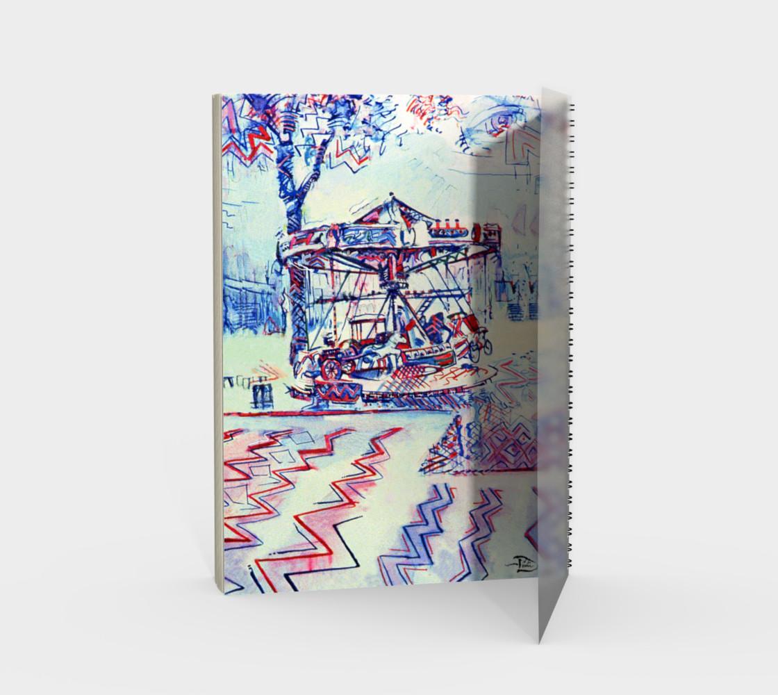 Aperçu de Luna Park Spiral Notebook (48-pgs./blank) #2