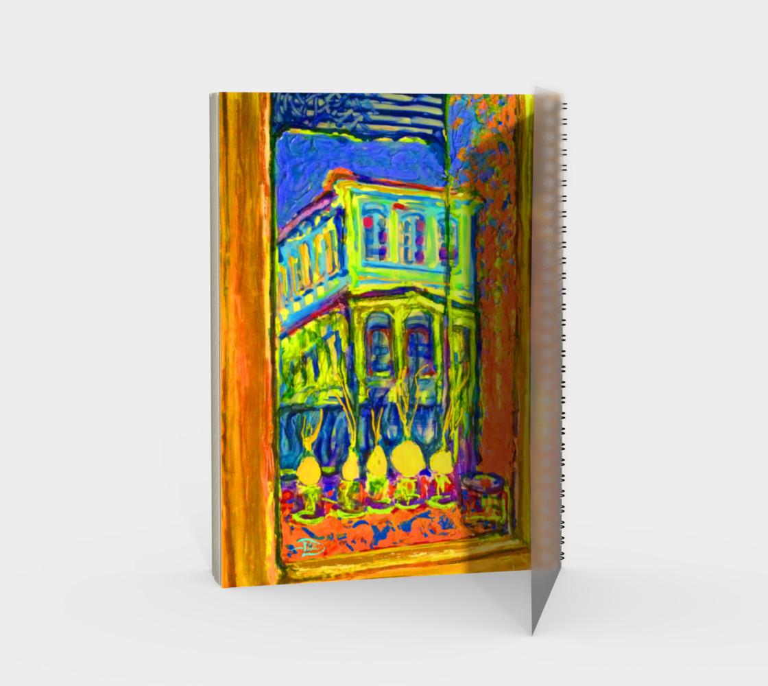 Aperçu de Channeling Vincent / Virtual Vincent™ Notebook / 48-pg. Spiral Notebook (blank) #2