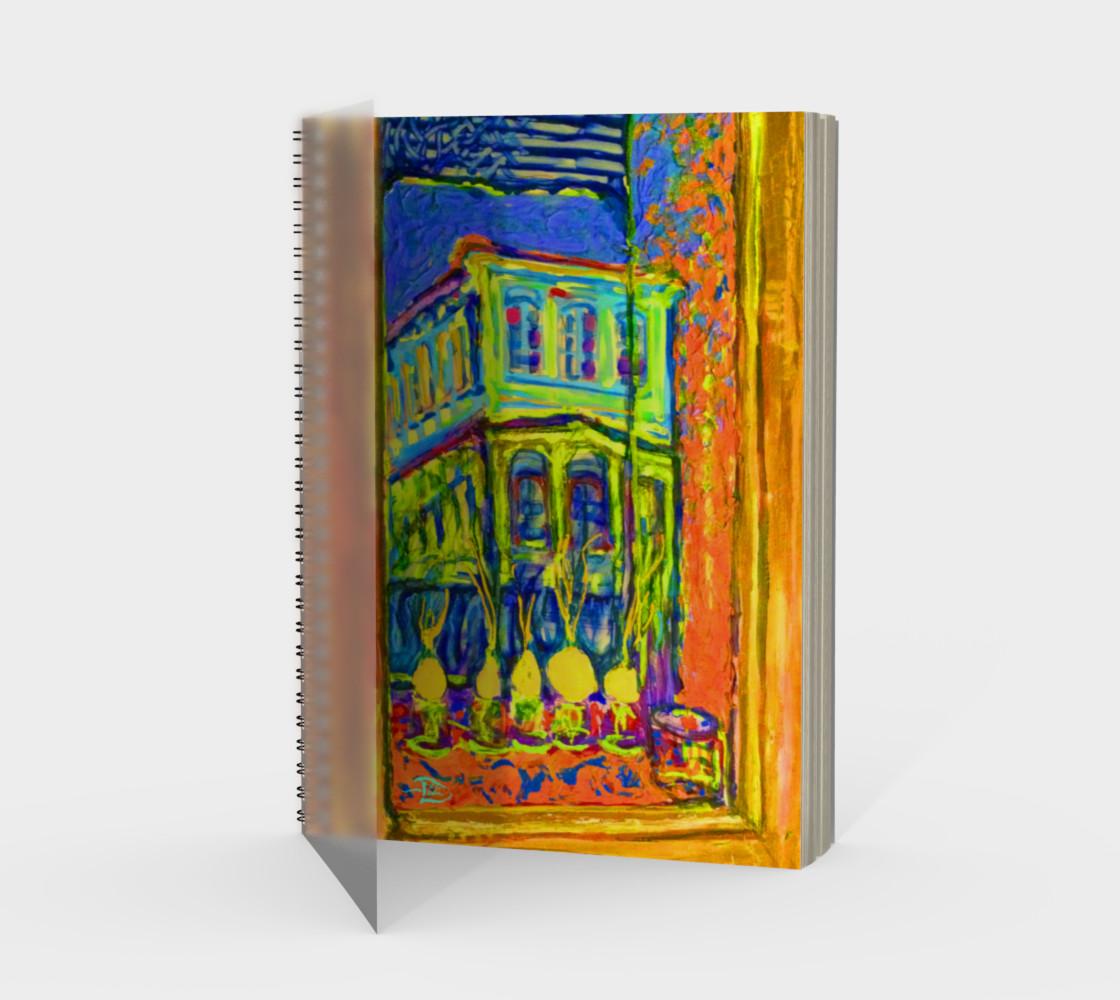 Aperçu de Channeling Vincent / Virtual Vincent™ Notebook / 48-pg. Spiral Notebook (blank) #1