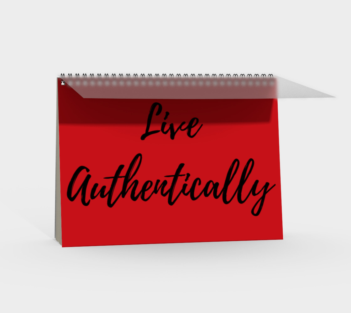 Live Authentically Notebook preview #2