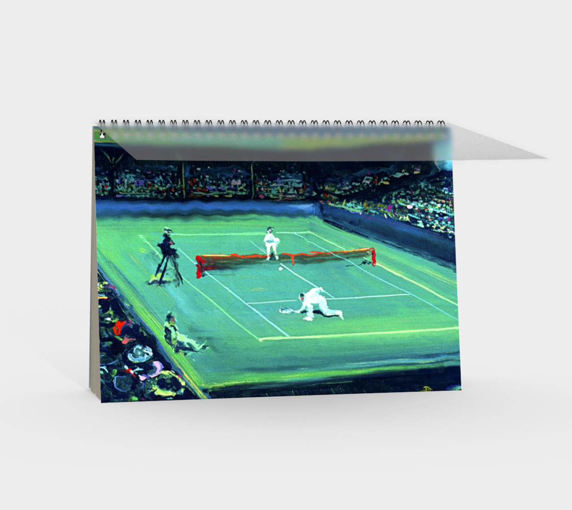 French Open Notebook (48-pgs /blank) preview #2