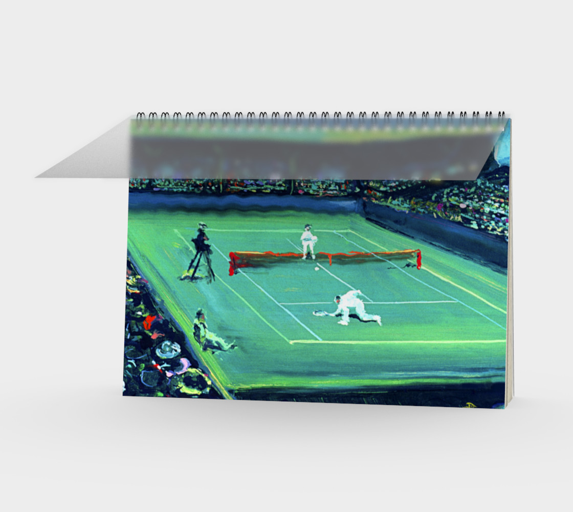 French Open Notebook (48-pgs /blank) preview #1