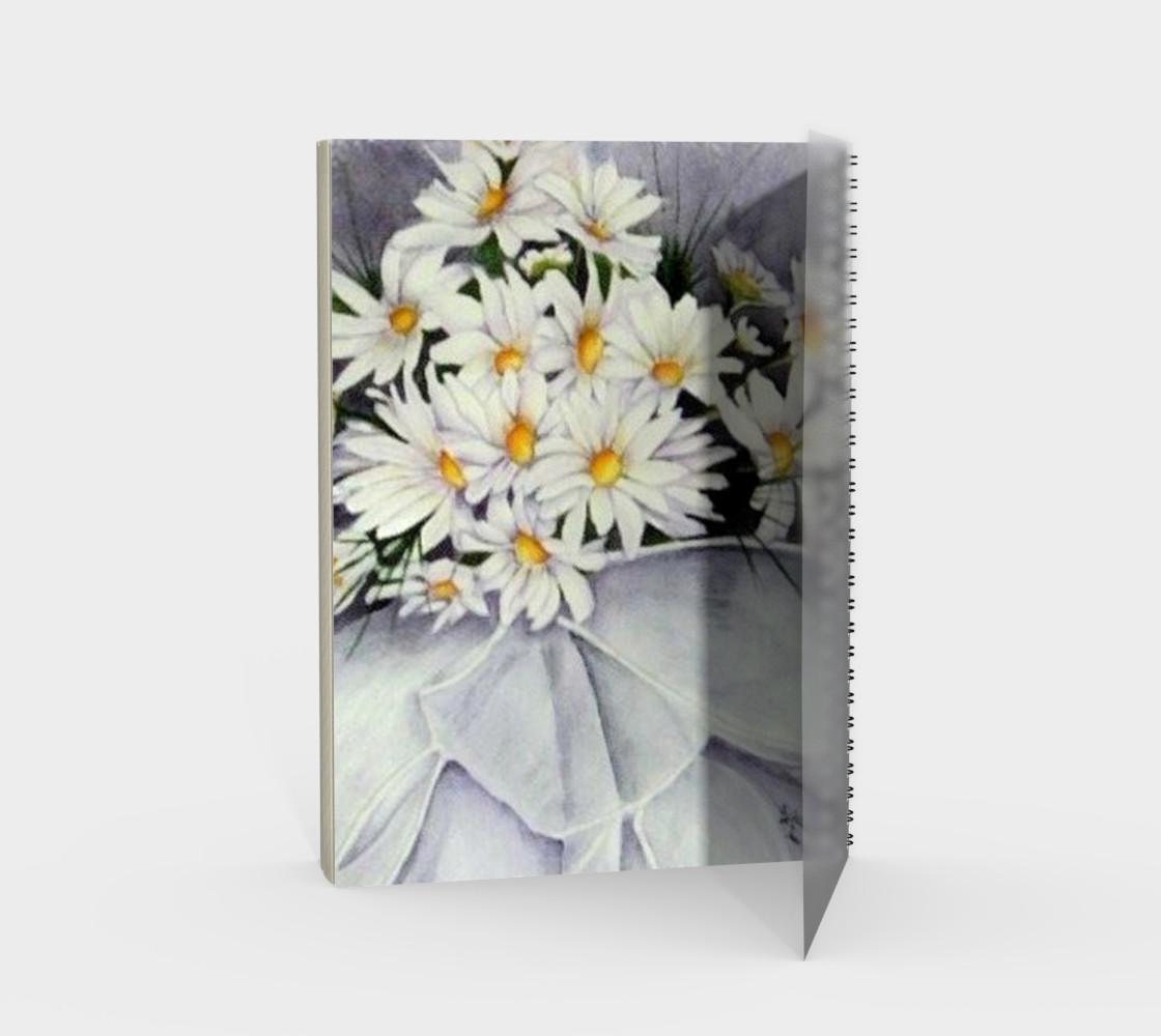 Daisy Bouquet Spiral Notebook preview #2