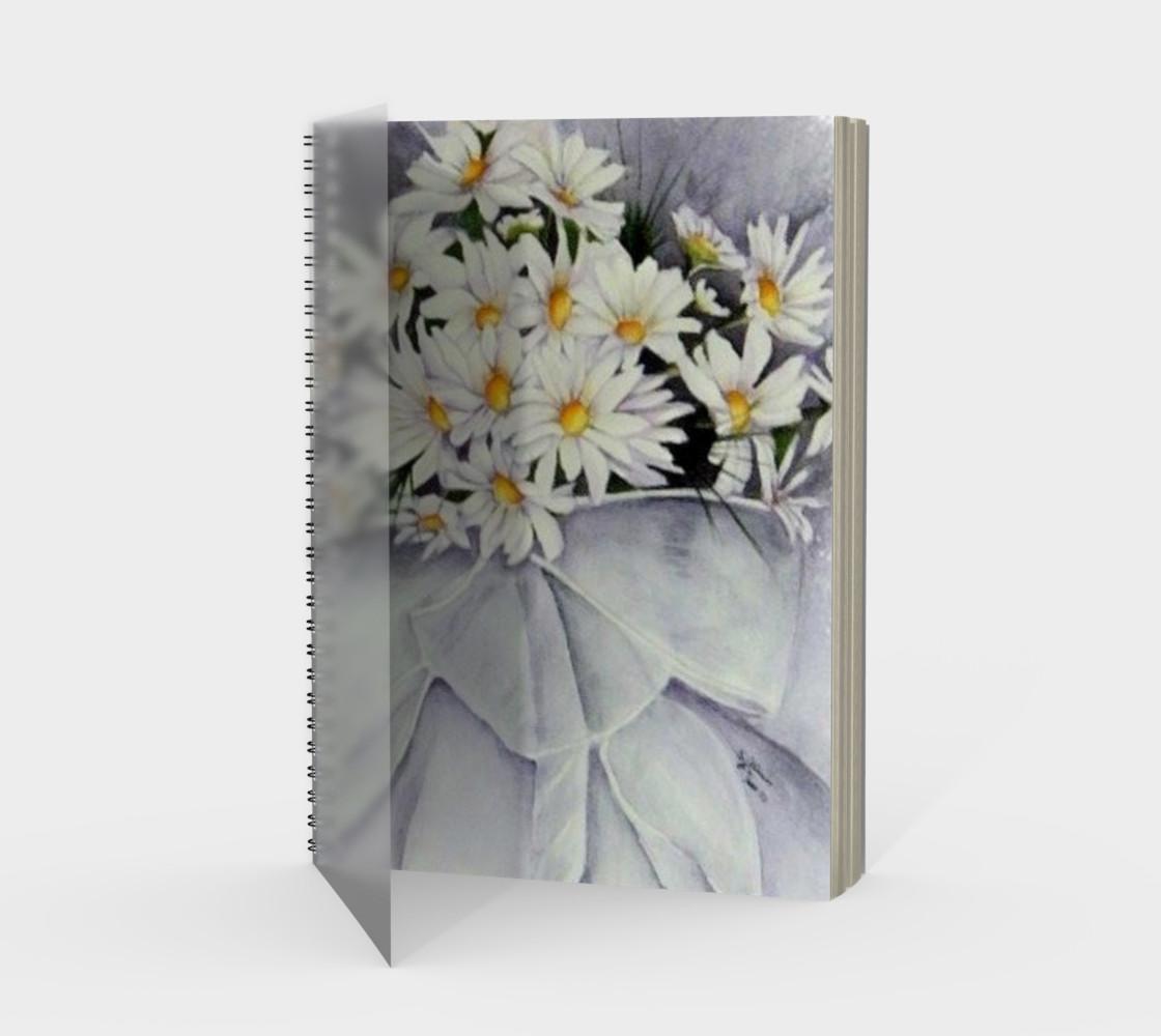 Daisy Bouquet Spiral Notebook preview #1