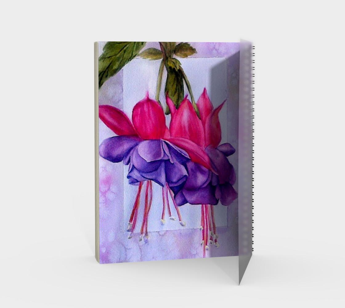 Fuchsia Spiral Notebook preview #2