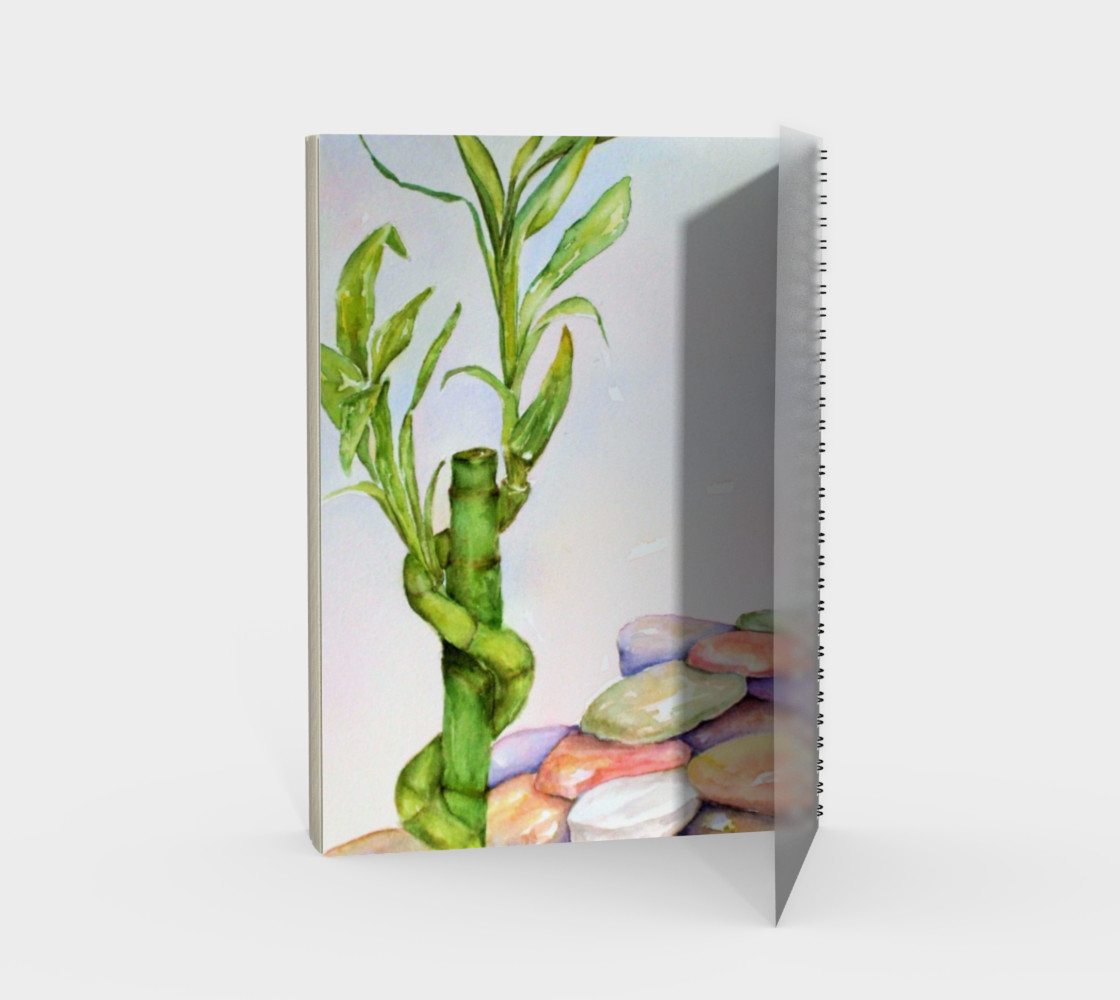 Lucky Bamboo Spiral Notebook preview #2