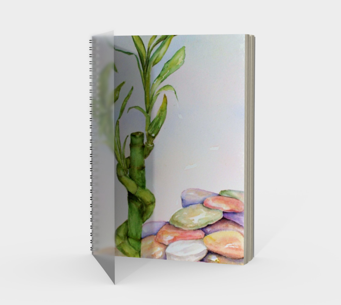Lucky Bamboo Spiral Notebook preview #1
