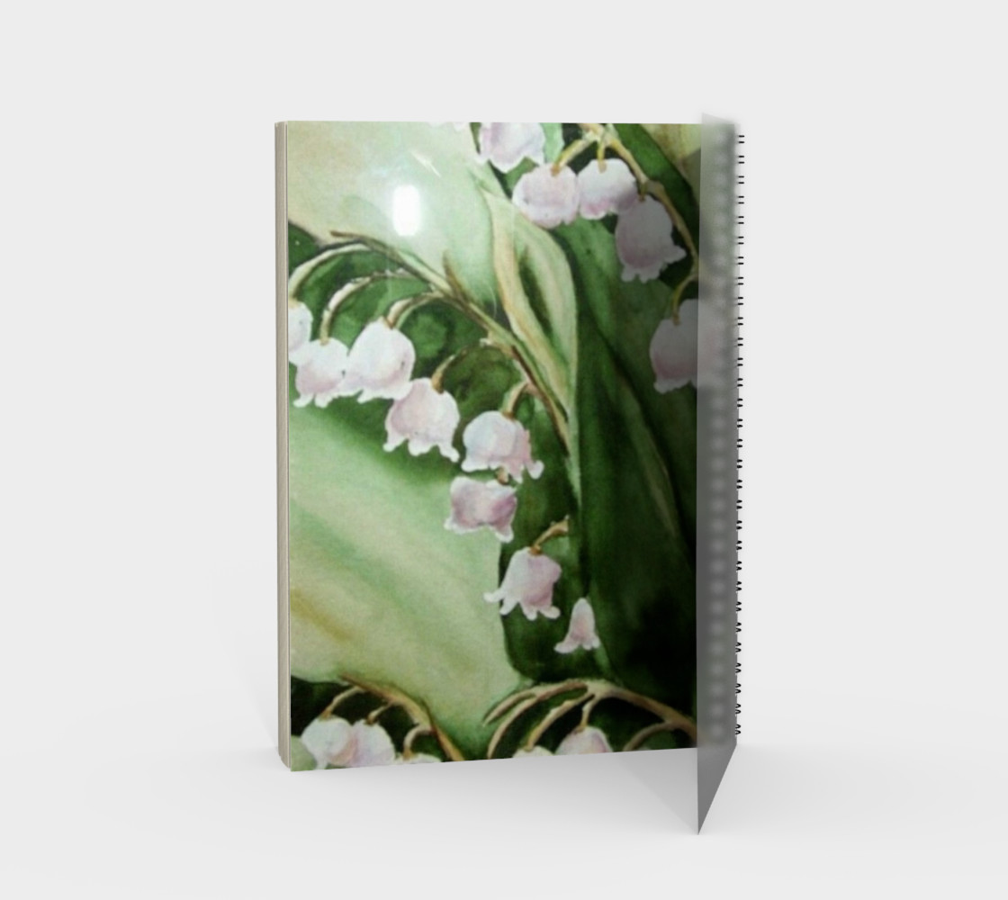 Lily Fronds Spiral Notebook preview #2