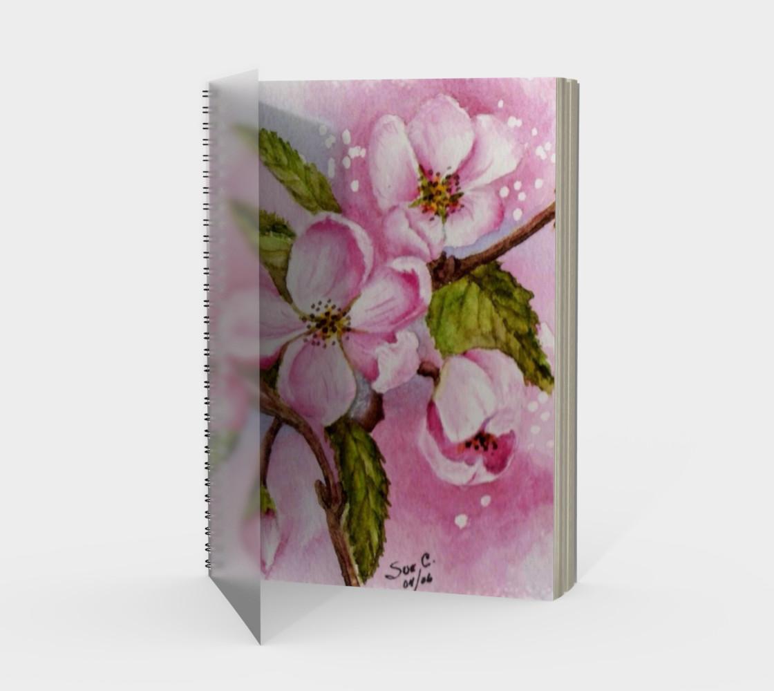Aperçu de Apple Blossoms Spiral Notebook #1
