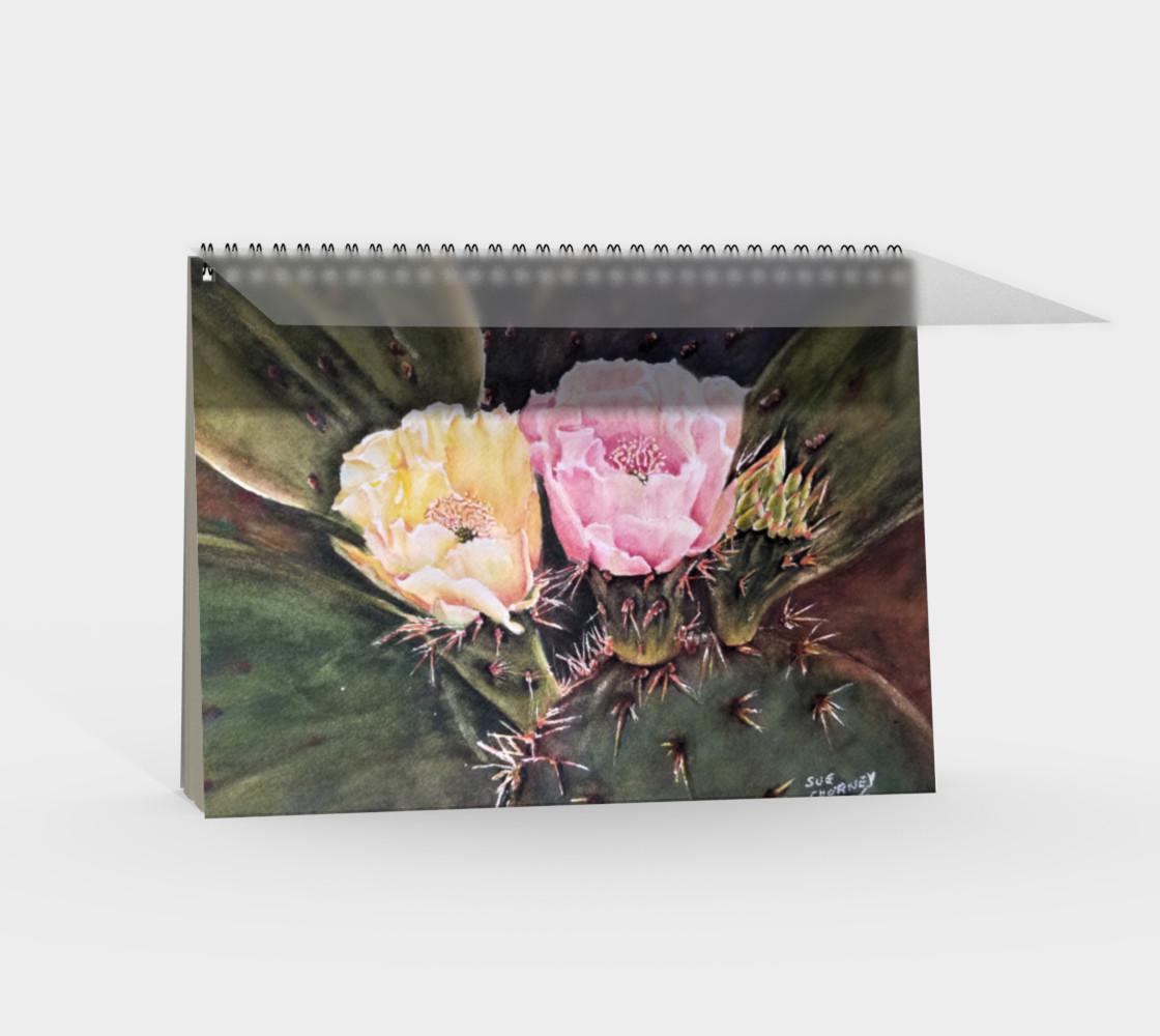 Desert Cacti Spiral Notebook preview #2