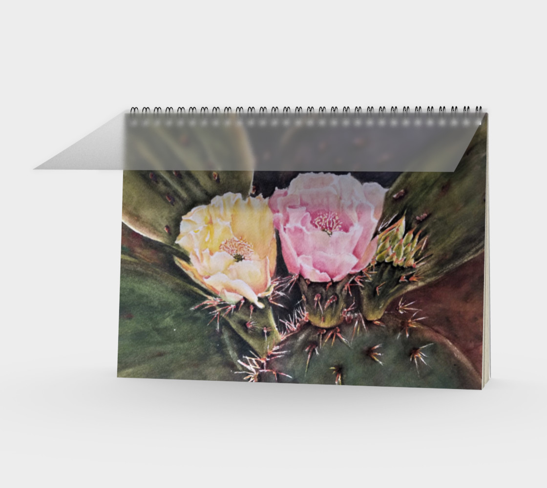 Desert Cacti Spiral Notebook preview #1